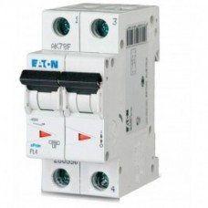 Автоматический выключатель EATON PL4 В20 2p (293134)