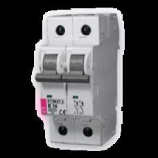 Автоматический выключатель ETIMAT 10 B 63 2p