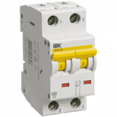 Автоматический выключатель IEK ВА47-60 C20 2Р