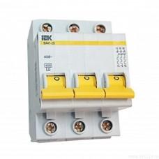 Автоматический выключатель IEK ВА47-100 D25 3Р