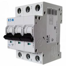 Автоматический выключатель EATON PL4 B10 3p (293150)