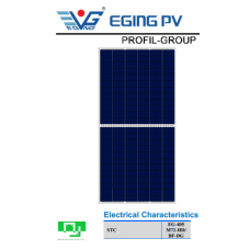 Солнечная панель EGING EG-405 M72-HD/BF-DG