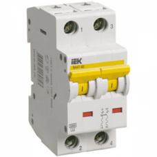 Автоматический выключатель IEK ВА47-100 D25 2Р