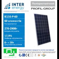 Солнечная панель INTERENERGY IE 156-60P-290w