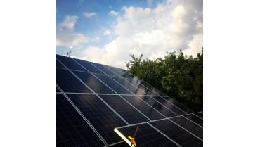 Монтаж солнечной электростанции 15 кВт на базе солнечных панелей Talesun и инвертора Fronius